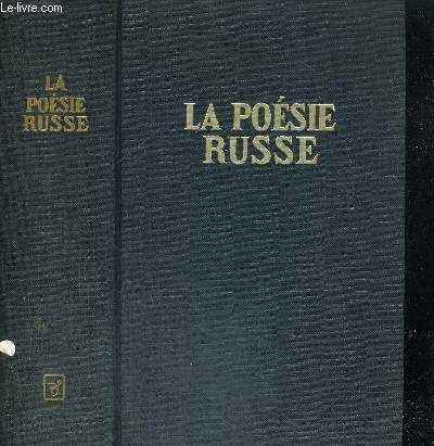 LA POESIE RUSSE - EDITION BILINGUE