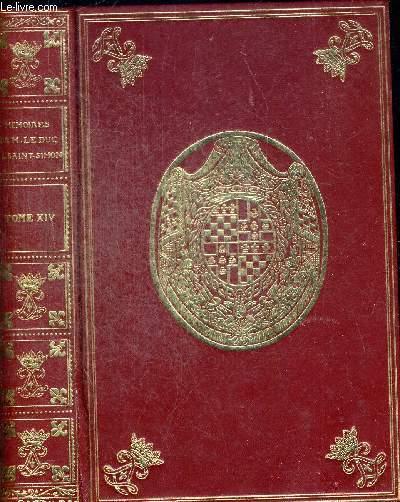 MEMOIRES DE M LE DUC DE SAINT SIMON TOME XVI (comprend les volumes XXVII et XXVIII) DE BOISLISLE