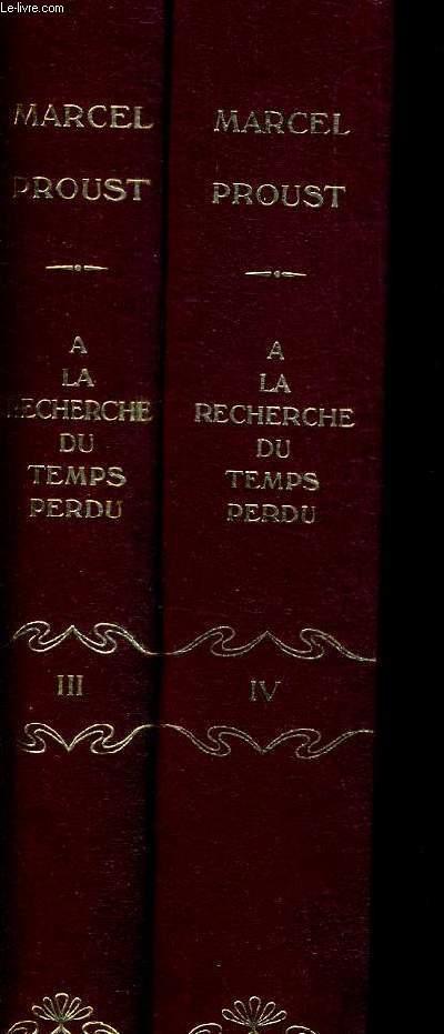 A L OMBRE DES JEUNES FILLES EN FLEURS - EN 2 VOLUMES. TOME 1 ET 2.  COLLECTION A LA RECHERCHE DU TEMPS PERDU III ET IV