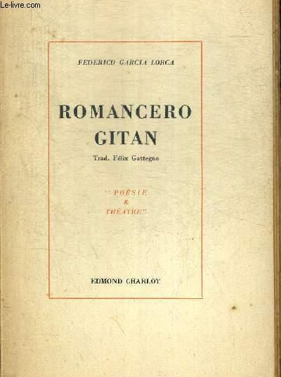 ROMANCERO GITAN. TRAD. FELIX GATTEGNO