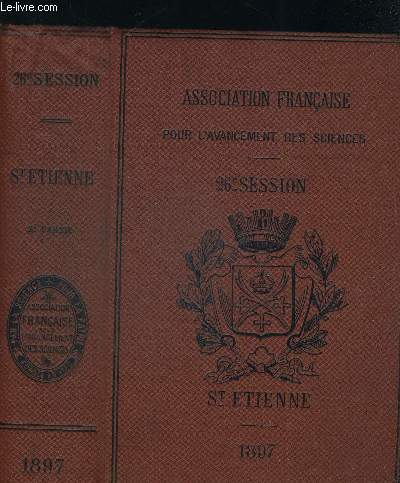 ASSOCIATION FRANCAISE POUR L AVANCEMENT DES SCIENCES. NOTES ET MEMOIRES. SECONDE PARTIE.