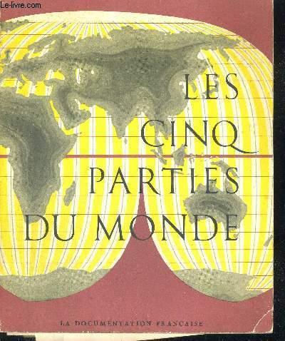 LES CINQ PARTIES DU MONDE