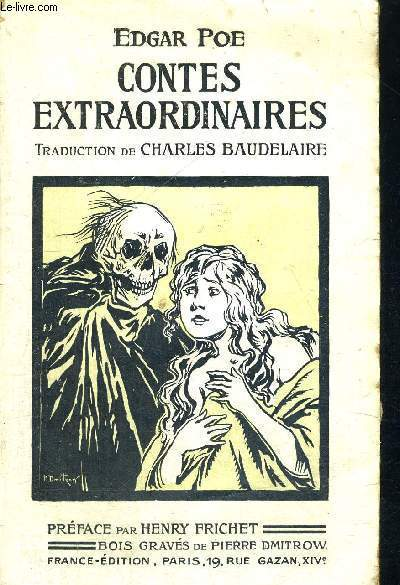 CONTES EXTRAORDINAIRES - TRADUCTION DE CHARLES BAUDELAIRE
