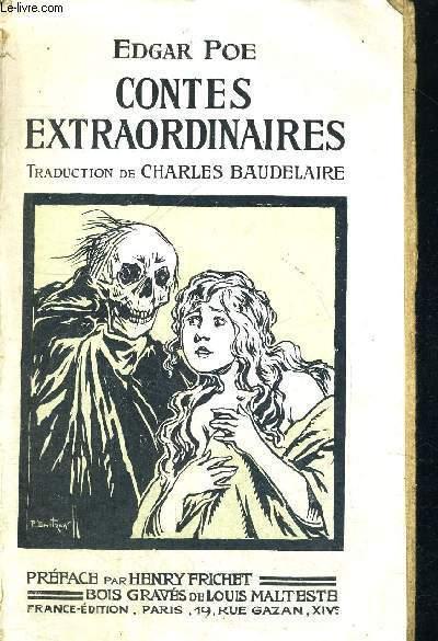 CONTES EXTRAORDINAIRES - TRADUCTION DE CHARLES