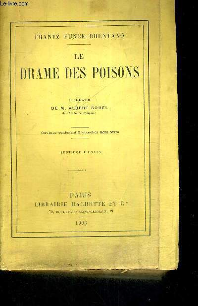 LE DRAME DES POISONS - 7EME EDITION