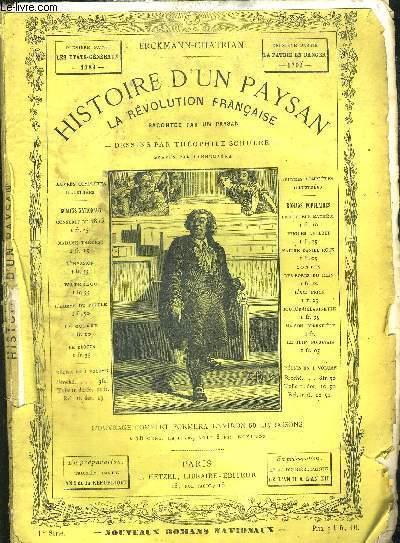 HISTOIRE D'UN PAYSAN - 1789 - 1ERE PARTIE : LES  TATS GENERAUX