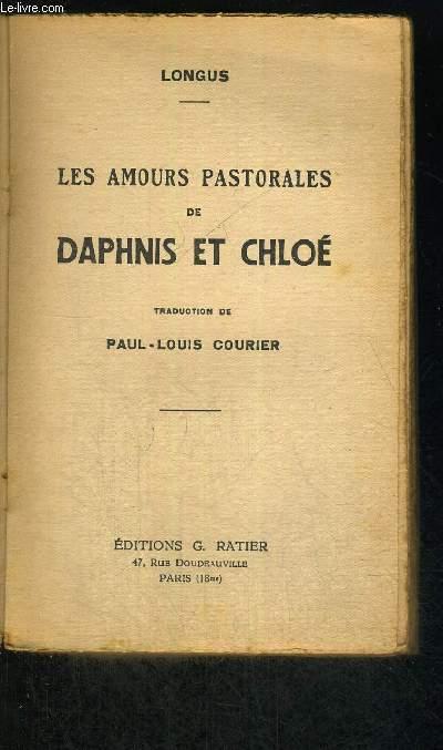LES AMOURS PASTORALES DE DAPHNIS ET CHLOE