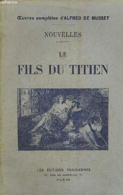LE FILS DU TITIEN - NOUVELLES