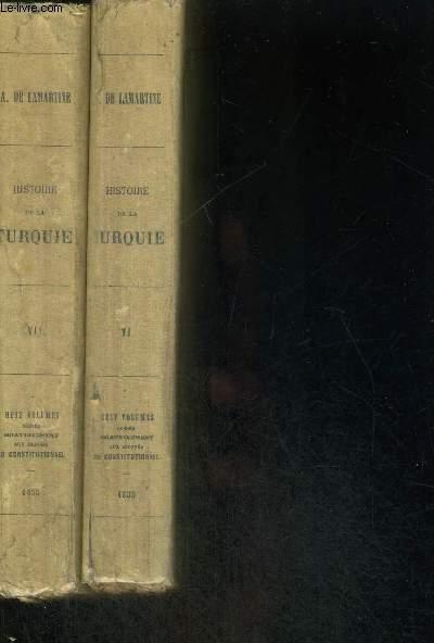 HISTOIRE DE LA TURQUIE - 2 VOLUMES - TOMES 6 ET 7 - PUBLICATIONS DU CONSTITUTIONNEL