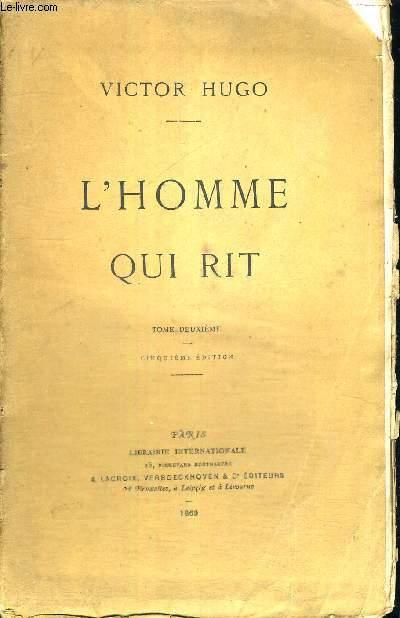 L'HOMME QUI RIT - TOME 2