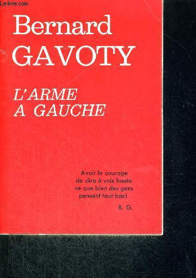 L'ARME A GAUCHE
