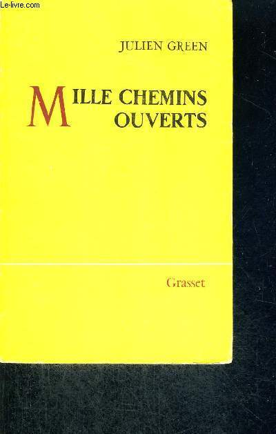 MILLE CHEMINS OUVERTS
