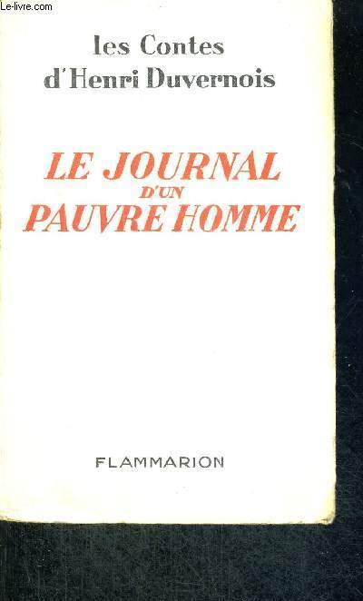 LE JOURNAL D'UN PAUVRE HOMME