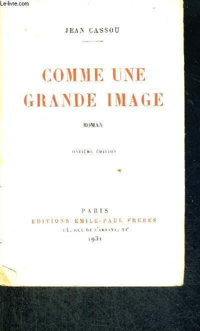 COMME UNE GRANDE IMAGE - 11E EDITION