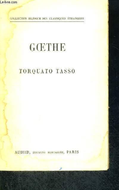TORQUATO TASSO  - COLLECTION BILINGUE DES CLASSIQUES ETRANGERS