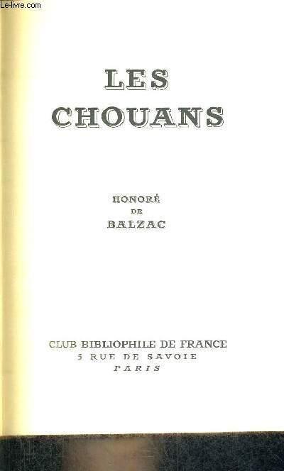 LES CHOUANS -  OU LA BRETAGNE EN 1979
