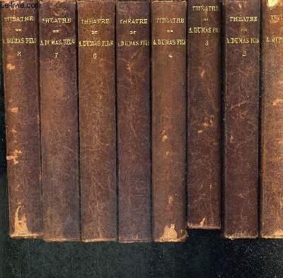 THEATRE COMPLET AVEC PREFACE INEDITE - 8 VOLUMES - TOMES 1E A 8