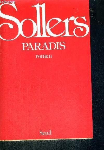 PARADIS  + ENVOI DE L'AUTEUR