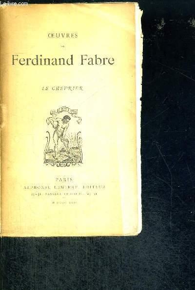 LE CHEVRIER - OEUVRES DE FERDINAND FABRE