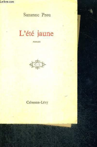 L'ETE JAUNE