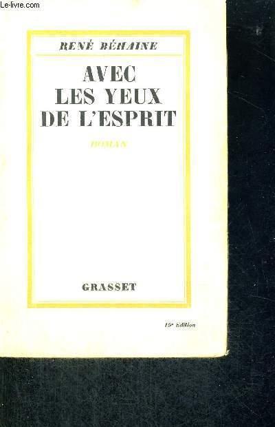 AVEC LES YEUX DE L'ESPRIT