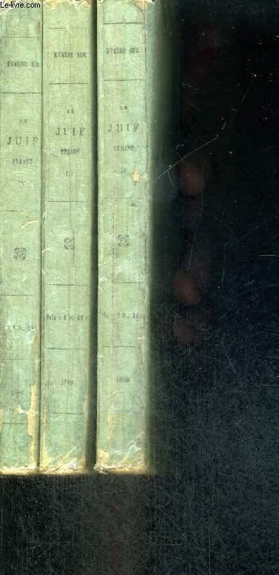 LE JUIF ERRANT  - 3 VOLUMES - TOMES 2 A 4