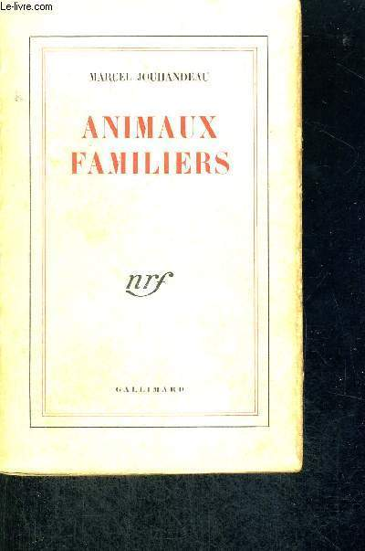 ANIMAUX FAMILIERS