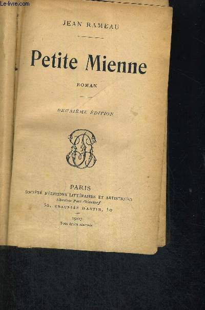 PETITE MIENNE - 2EME EDITION