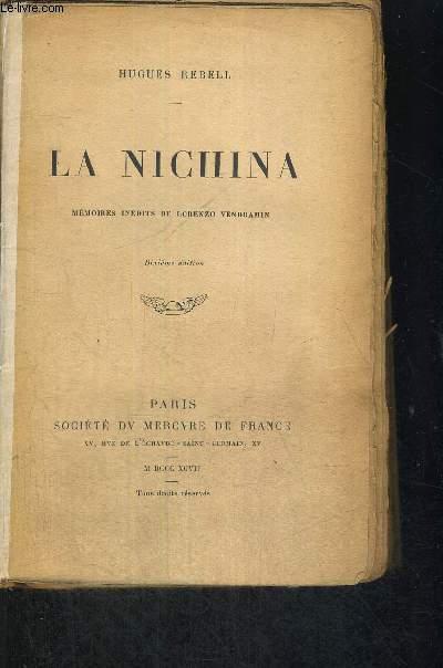 LA NICHINA - MEMOIRES INEDITS DE LORENZO VENDRAMIN