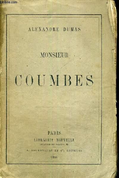 MONSIEUR COUMBES