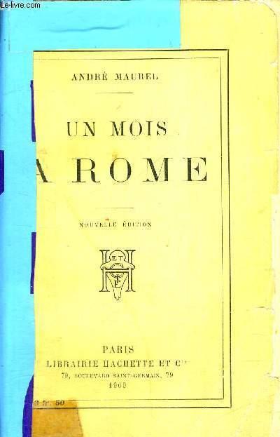 UN MOIS A ROME - 7EME EDITION
