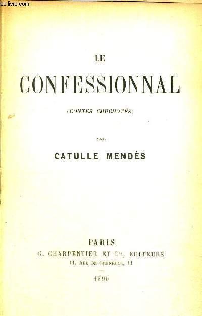 LE CONFESSIONAL -  CONTES CHUCHOTES