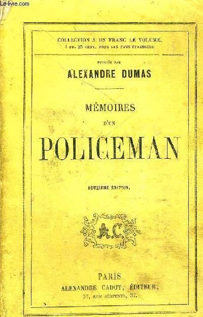 MEMOIRES D'UN POLICEMAN