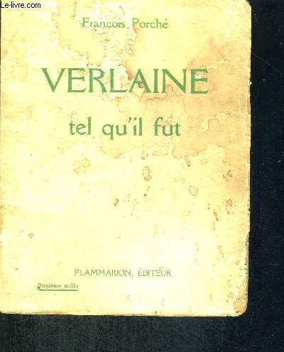 VERLAINE - TEL QU'IL FUT