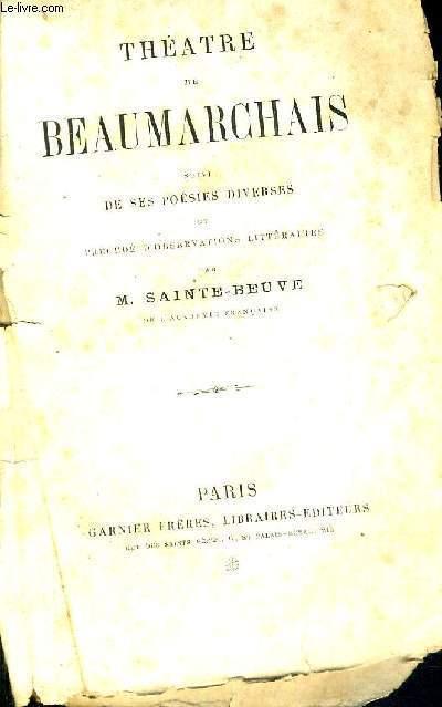 THEATRE DE BEAUMARCHAIS