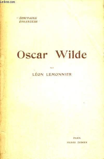 OSCAR WILDE - ECRIVAINS ETRANGERS