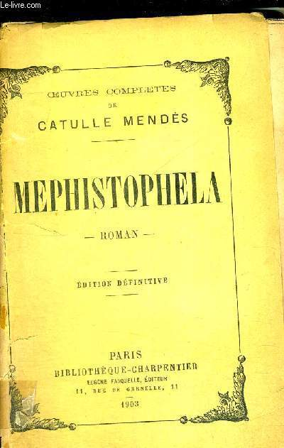 MEPHISTOPHELA - EDITION DEFINITIVE