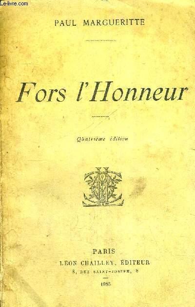 FORS L'HONNEUR - 4EME EDITION