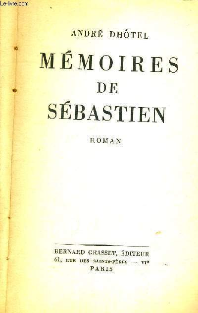 MEMOIRES DE SEBASTIEN