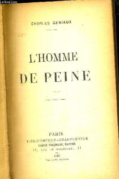 L'HOMME DE PEINE