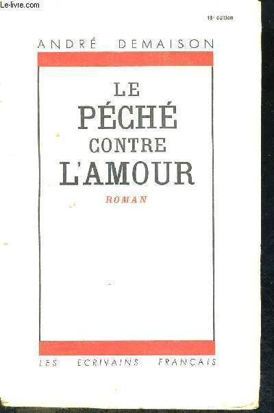 LE PECHE CONTRE L'AMOUR