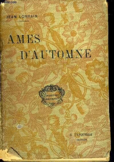 AMES D'AUTOMNE - COLLECTION PARISIENNE
