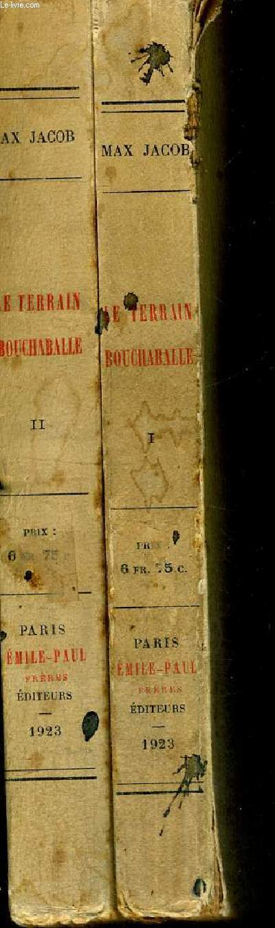 LE TERRAIN BOUCHABALLE - 2 VOLUMES - TOMES 1 ET 2