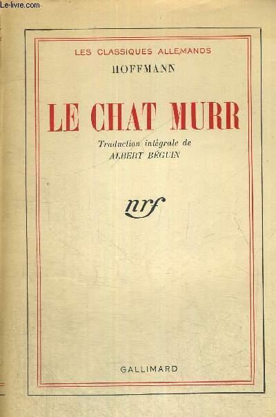 LE CHAT MURR - LES CLASSIQUES ALLEMANDS