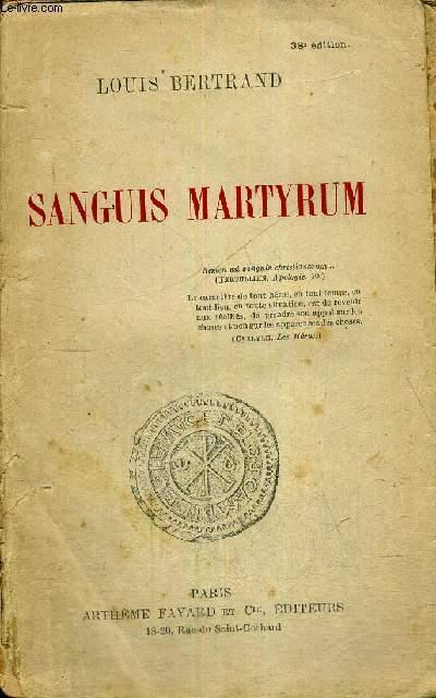 SANGUS MARTYRUM