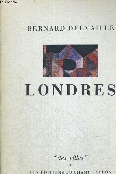 LONDRES - COLLECTION DES VILLES