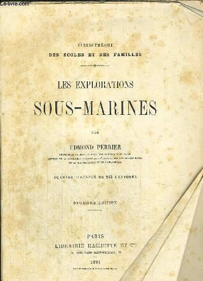 LES EXPLORATIONS SOUS-MARINES