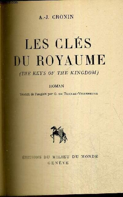 LES CLES DU ROYAUME - THE KEYS OF THE KINGDOM