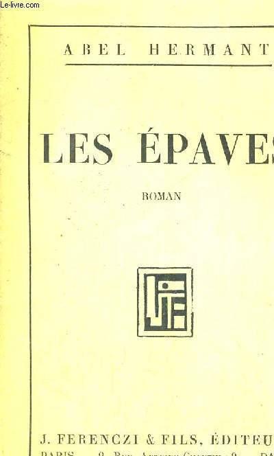 LES EPAVES - EXEMPLAIRE N°50
