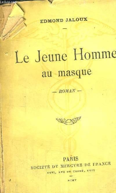LE JEUNE HOMME AU MASQUE - JUSTIFICATION DU TIRAGE N°1623
